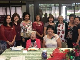 Christmas Women's Fellowship, 2017